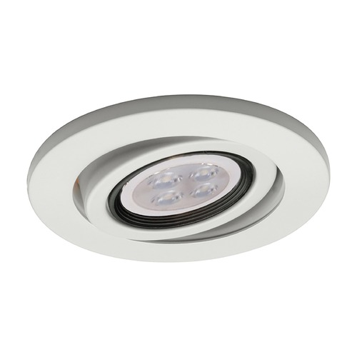 WAC Lighting Wac Lighting 4 Low Volt White LED Recessed Trim HR-D417LED-WT