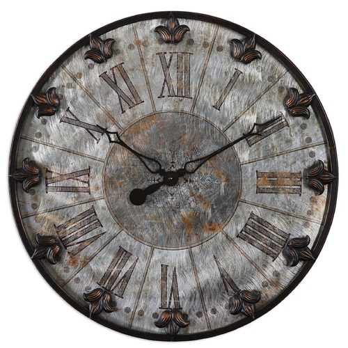 Uttermost Lighting Uttermost Artemis Antique Wall Clock 06643