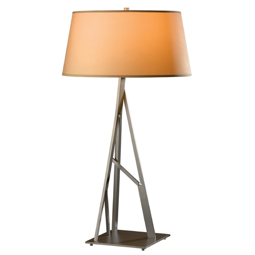 Hubbardton Forge Lighting Hubbardton Forge Lighting Arbo Burnished Steel Table Lamp with Empire Shade 277690-08-712