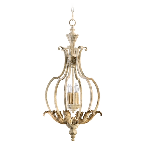 Quorum Lighting Quorum Lighting Florence Persian White Pendant Light 6837-4-70