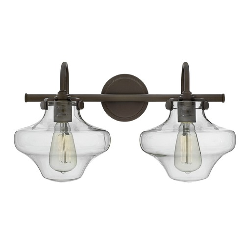 Hinkley Lighting Hinkley Lighting Congress Oil Rubbed Bronze Bathroom Light 50021OZ