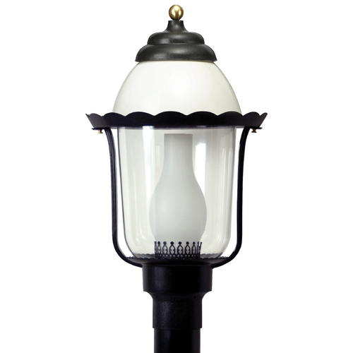 Wave Lighting Wave Lighting Marlex Colonial Black Post Light 123-G18