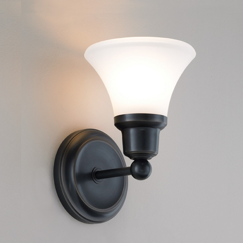 Norwell Lighting Norwell Lighting Elizabeth Oil Rubbed Bronze Sconce 8951-OB-FL