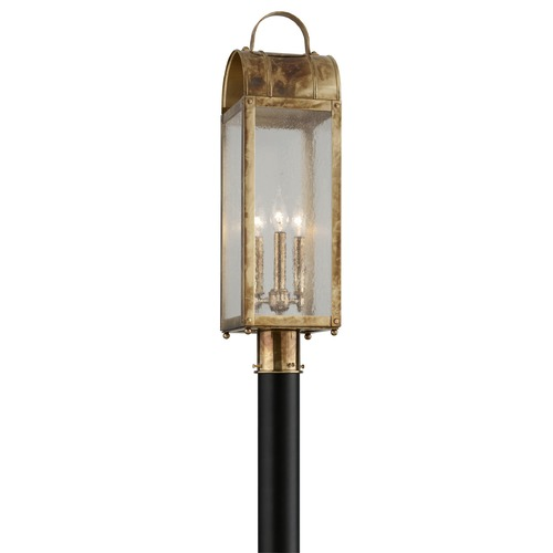 Troy Lighting Troy Lighting Bostonian Historic Brass Post Light P5094HB