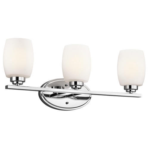 Kichler Lighting Kichler Lighting Eileen Chrome LED Bathroom Light 5098CHL16