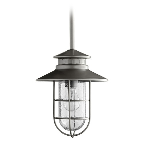 Quorum Lighting Quorum Lighting Moriarty Graphite Outdoor Hanging Light 7699-3