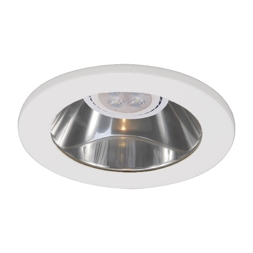 WAC Lighting Wac Lighting 4 Low Volt White LED Recessed Trim HR-D418LED-S-WT