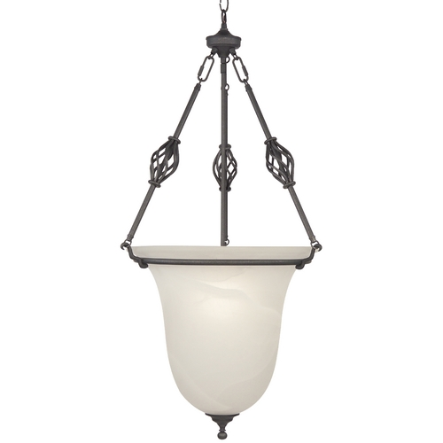 Design Classics Lighting Energy Star Qualified Single-Light Pendant 70091ES-43