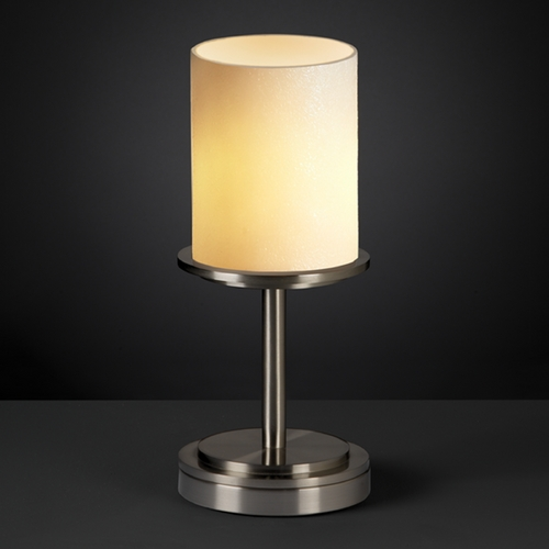 Justice Design Group Justice Design Group Candlearia Collection Table Lamp CNDL-8798-10-CREM-NCKL