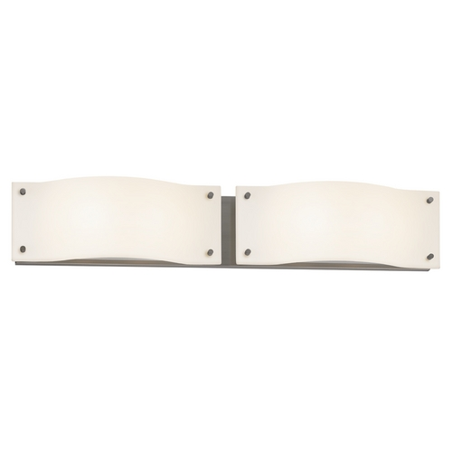 Sonneman Lighting Sonneman Lighting Oceana Satin Nickel LED Bathroom Light 3912.13LED