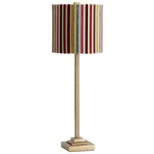 Cyan Design Cyan Design Santa Cruz Gold Table Lamp with Drum Shade 04818