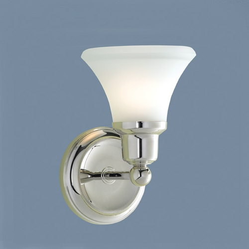 Norwell Lighting Norwell Lighting Elizabeth Polished Nickel Sconce 8951-PN-FL