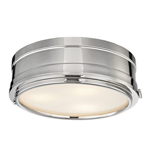 Hudson Valley Lighting Hudson Valley Lighting Rye Polished Nickel Flushmount Light 2314-PN