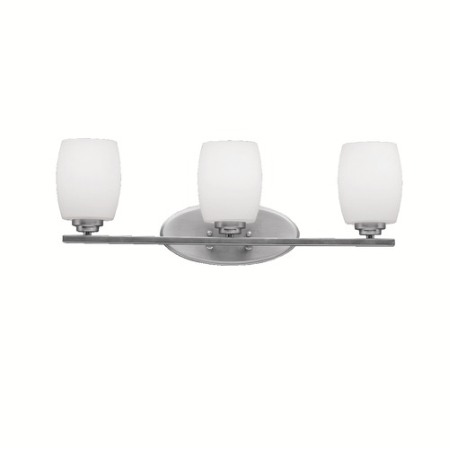 Kichler Lighting Kichler Lighting Eileen Brushed Nickel LED Bathroom Light 5098NIL16