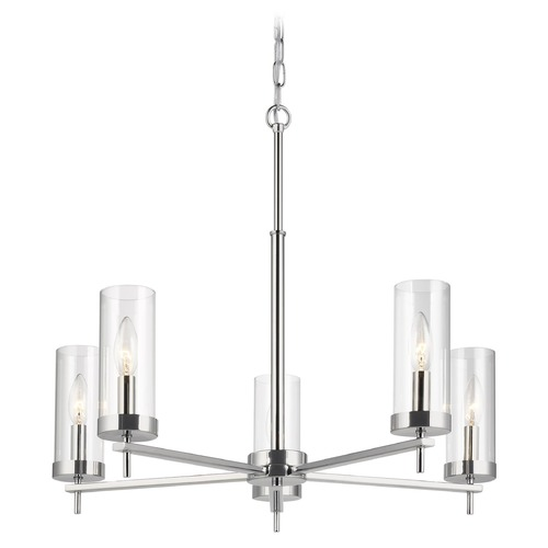 Sea Gull Lighting Sea Gull Lighting Zire Chrome LED Chandelier 3190305EN-05