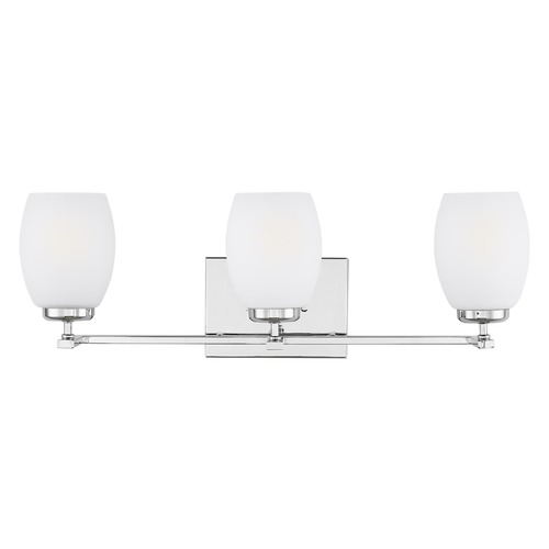 Sea Gull Lighting Sea Gull Lighting Catlin Chrome Bathroom Light 4418503-05