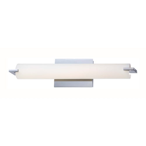 George Kovacs Lighting Tube Chrome LED Bathroom Light - Vertical or Horizontal Mounting P5044-077-L