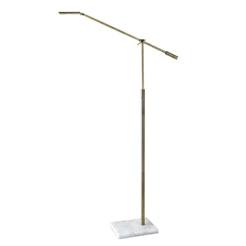 Adesso Home Lighting Adesso Home Vera Antique Brass LED Swing Arm Lamp 4129-21