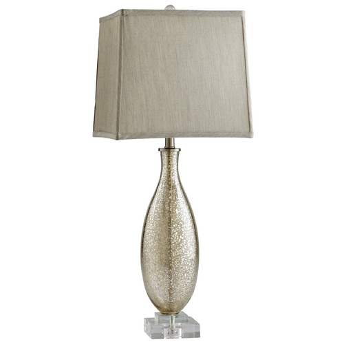 Cyan Design Cyan Design Coco Golden Crackle Table Lamp with Square Shade 04819