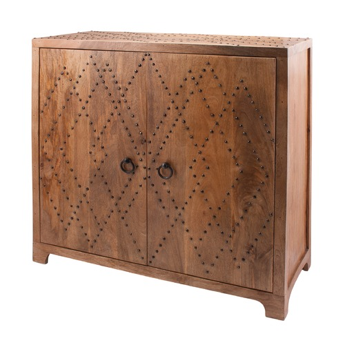 Dimond Lighting Plaid Nail Head Cabinet 985-032