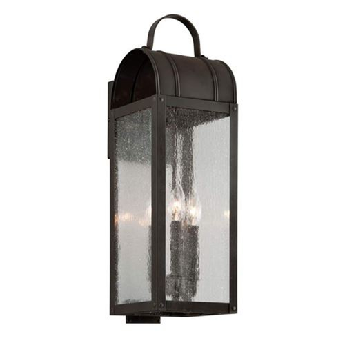 Troy Lighting Troy Lighting Bostonian Charred Iron Outdoor Wall Light B5092CI