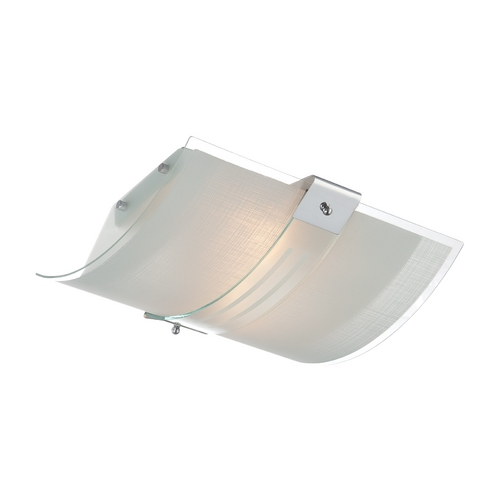 Lite Source Lighting Lite Source Lighting Vicenzo Chrome Flushmount Light LS-5430