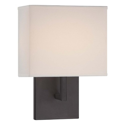 George Kovacs Lighting Minka Bronze LED Sconce P470-617-L