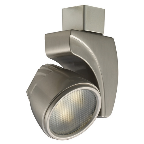WAC Lighting WAC Lighting Brushed Nickel LED Track Light H-Track 4500K 439LM H-LED9S-CW-BN
