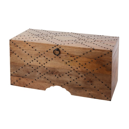 Dimond Home Plaid Nail Head Chest 985-034