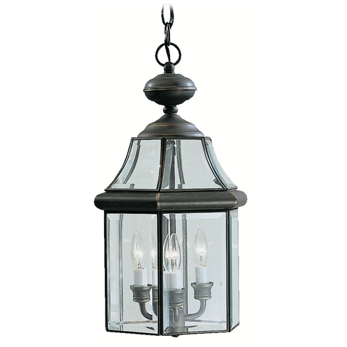 Kichler Lighting Kichler Outdoor Hanging Light in Bronze Finish 9885OZ