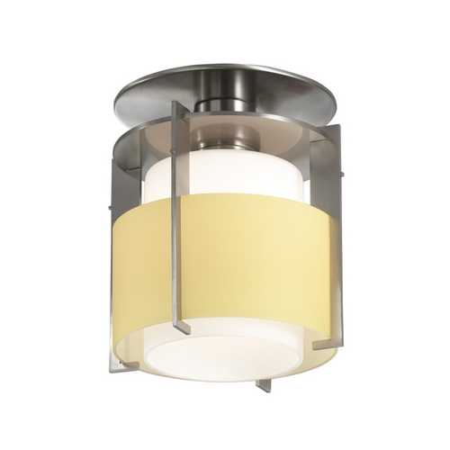 Sonneman Lighting Modern Mini-Pendant Light with Yellow Glass 3432.13Y