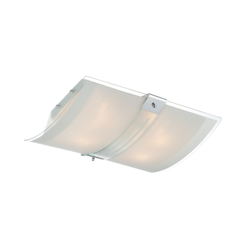 Lite Source Lighting Lite Source Lighting Vicenzo Chrome Flushmount Light LS-5431