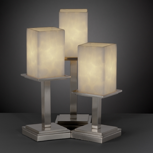 Justice Design Group Justice Design Group Clouds Collection Table Lamp CLD-8697-15-NCKL
