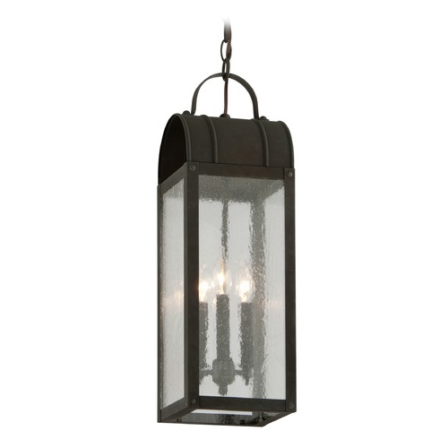 Troy Lighting Troy Lighting Bostonian Charred Iron Outdoor Hanging Light F5097CI