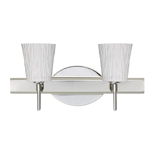 Besa Lighting Besa Lighting Nico Chrome LED Bathroom Light 2SW-5125OS-LED-CR