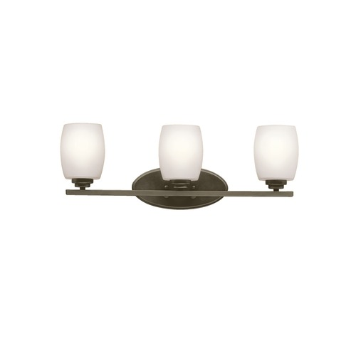 Kichler Lighting Kichler Lighting Eileen Olde Bronze Bathroom Light 5098OZSFL