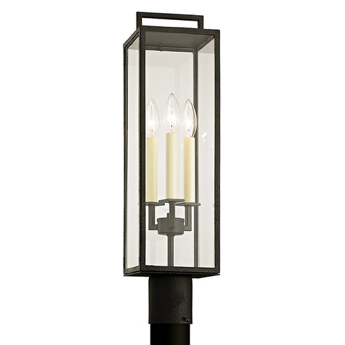 Troy Lighting Troy Lighting Beckham Forged Iron Post Light P6385