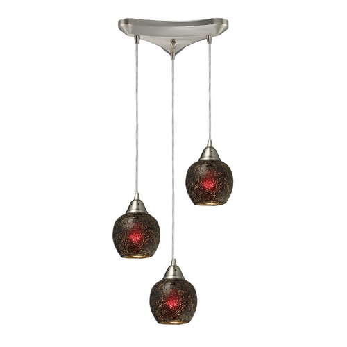 Elk Lighting Multi-Light Pendant Light 3-Lights 10208/3WN