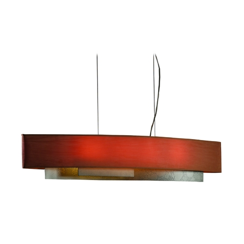 Hubbardton Forge Lighting Current Four-Light Island Pendant 137650-07-643