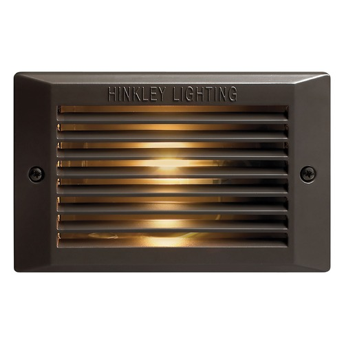 Hinkley Recessed Step Light in Bronze Finish 58025BZ