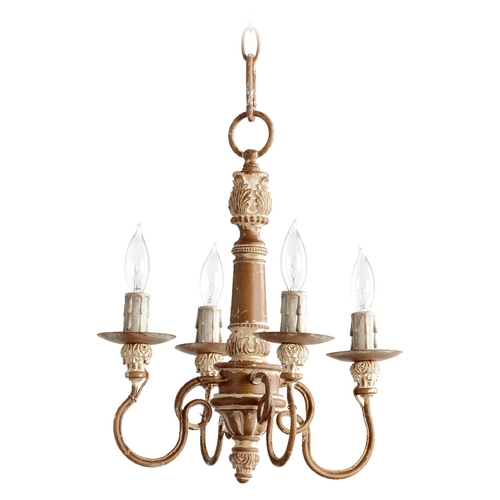 Quorum Lighting Quorum Lighting Salento French Umber Mini-Chandelier 6006-4-94