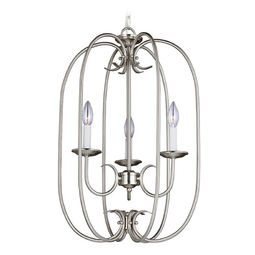 Sea Gull Lighting Sea Gull Lighting Holman Brushed Nickel Pendant Light 51806-962