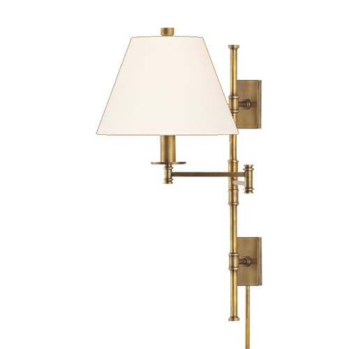 Hudson Valley Lighting Hudson Valley Lighting Claremont Old Bronze Swing Arm Lamp 7731-OB-WS
