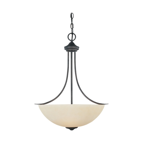 Designers Fountain Lighting Bronze Pendant Light with Three lights 96931-ORB
