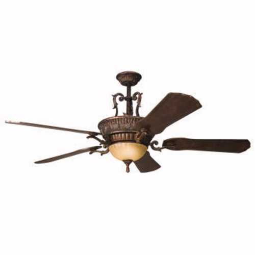 Kichler Lighting Kichler 60-Inch Ceiling Fan with Integrated Downlight 300008BKZ