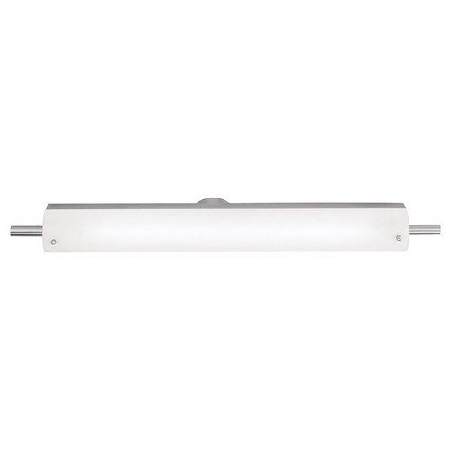 Access Lighting Vail Brushed Steel LED Bathroom Light - Vertical or Horizontal Mounting 31002LEDD-BS/OPL