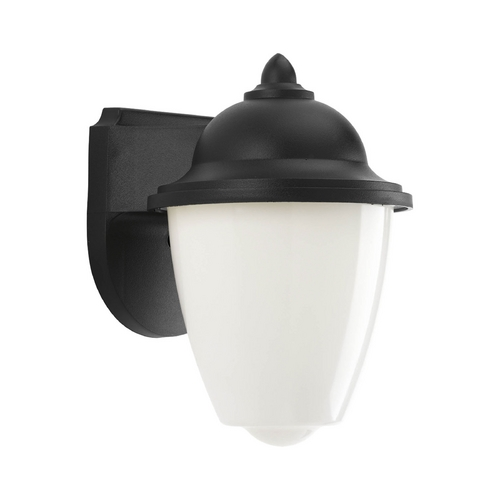Progress Lighting LED Outdoor Wall Light with White in Black Finish P3715-31