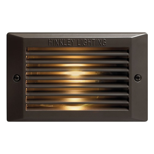 Hinkley Lighting LED Recessed Step Light in Bronze Finish 58015BZ-LED