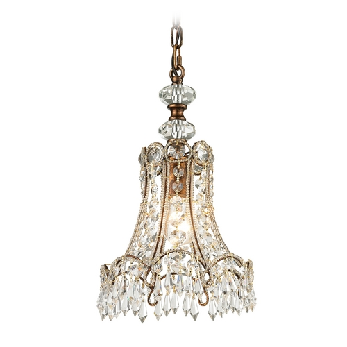 Elk Lighting Crystal Mini-Pendant Light 11706/1