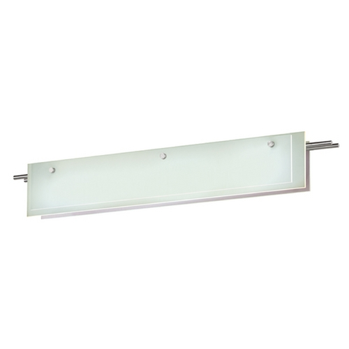 Sonneman Lighting Sonneman Lighting Suspended Satin Nickel LED Bathroom Light 3214.13LED